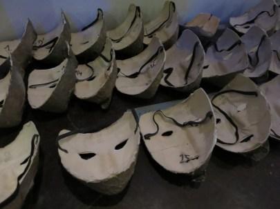 Masques des meneurs