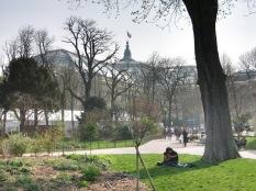 15 mars, Paris sous le soleil