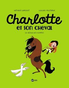 charlotte et son cheval