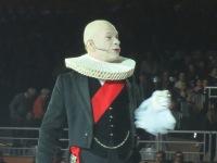 Calixte de Nigremont, comédien présentateur des Crinières d'Or