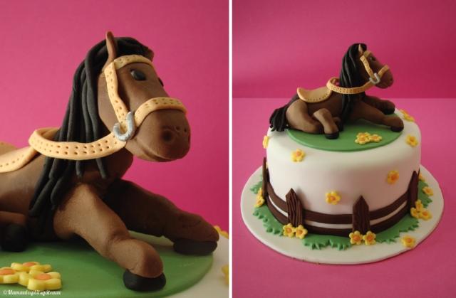 gateau-cheval