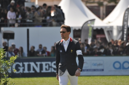 Simon Delestre et son bassard de meilleur cavalier au Longine Ranking list