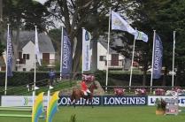 Drapeaux et sponsors