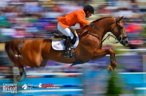 Gerco SCHRODER sur LONDON - JUMPING - JEUX OLYMPIQUES DE LONDRES 2012 - OLYMPICS GAMES IN LONDON - PHOTO : © CHRISTOPHE BRICOT