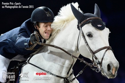 France, Paris Nord Villepinte : Maikel van der Vleuten riding on VDL Groep Sapphire B during on December 6th 2014 - Parc des expositions, Paris Nord Villepinte, France - Photo Christophe Bricot